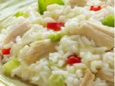 Chicken And Shrimp In Lemon Rice